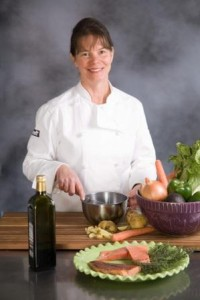 Chef Cynthia Burke